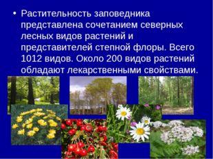 Растительность заповедника представлена сочетанием северных лесных видов раст
