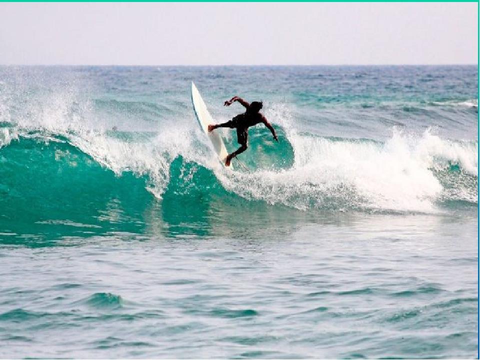 Самая главная достопримечательность острова Бали, по мнению серферов, это вов...