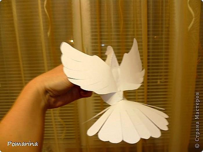 Шаблоны для оригами голубь