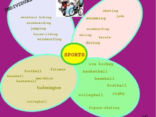 volleyball volleyball basketball aerobics badmington baseball football ice ho