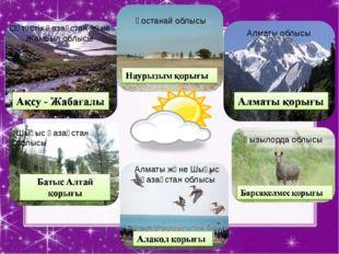 Оңтүстік Қазақстан және Жамбыл облысы Қостанай облысы Алматы облысы Шығыс Қаз
