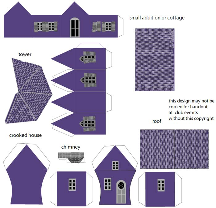 Схемы вырезания зданий
