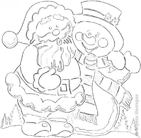 Шаблоны с рисунками на новый год