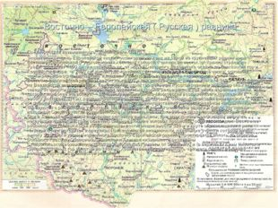 Восточно – Европейская ( Русская ) равнина Среднерусская возвышенность. Доли