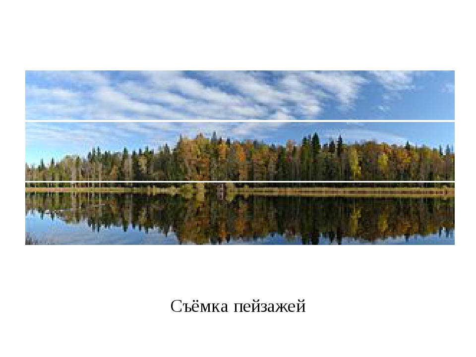 Съёмка пейзажей