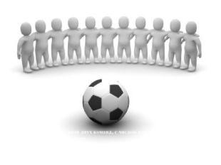 ЧИСЛО ИГРОКОВ Матч проводится с участием двух команд, с числом игроков в кажд