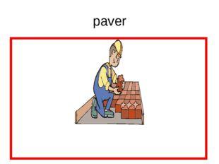 paver