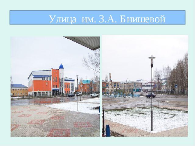Улица им. З.А. Биишевой
