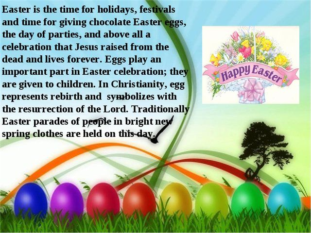 Easter is the time for holidays, festivals and time for giving chocolate East...