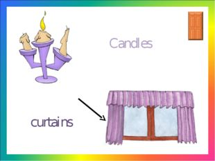 curtains Candles