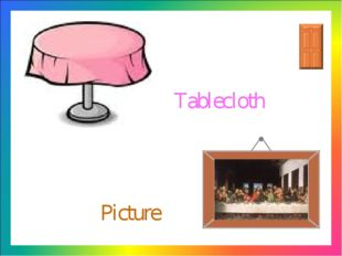 Picture Tablecloth