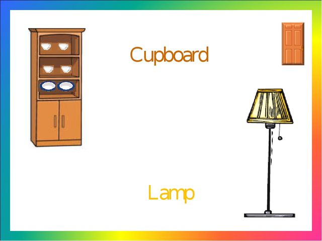 Cupboard Lamp