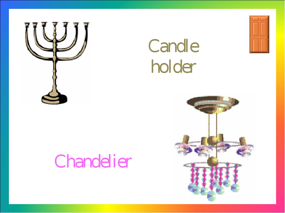 Candle holder Chandelier