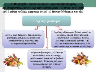 А.Мэркердің этиологиялық мультифакторды тұжырымдамасы әсер ету факторын үш то