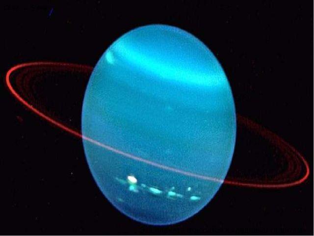 Семь … Уран Эта планета относится к «ледяным гигантам».