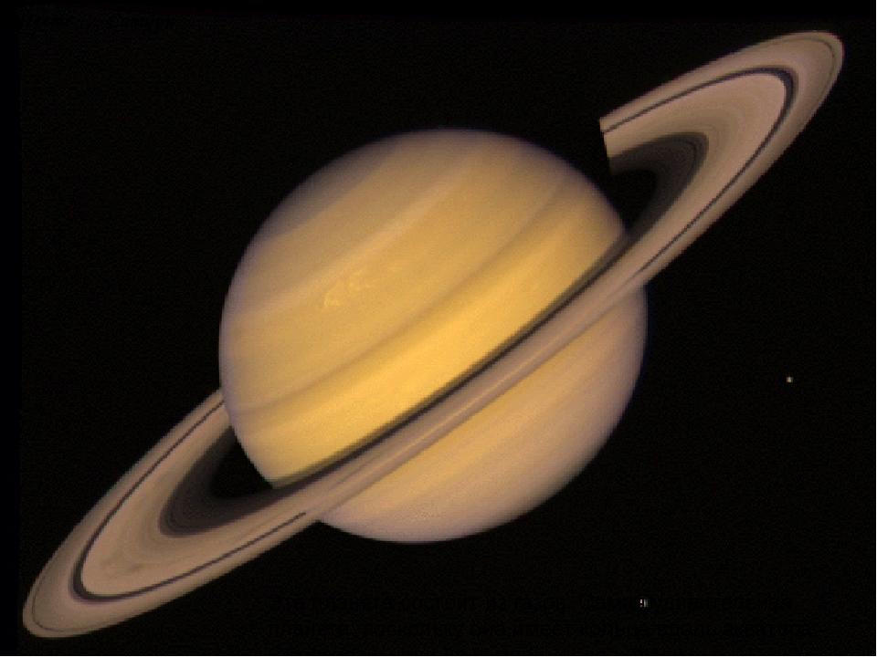 Шесть … Сатурн Эта планета состоит из газов. Самая удивительная планета, поск...