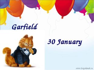 Garfield 30 January