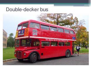 Double-decker bus