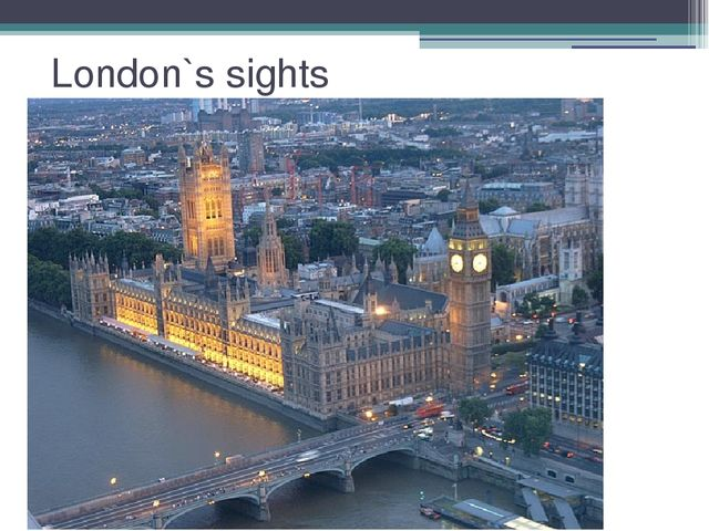 London`s sights