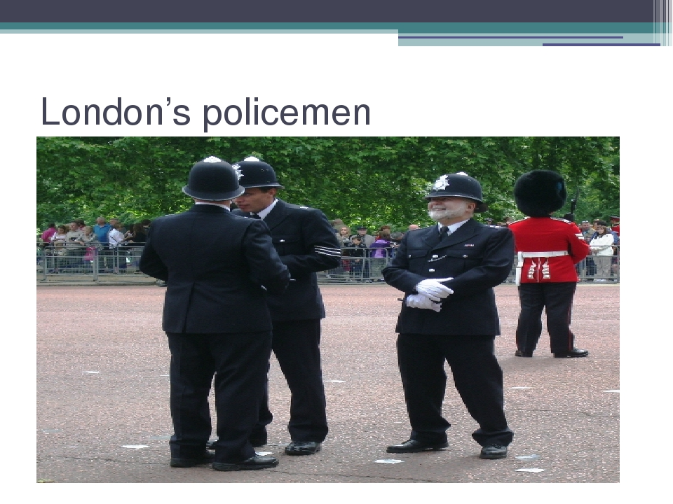 London's policemen