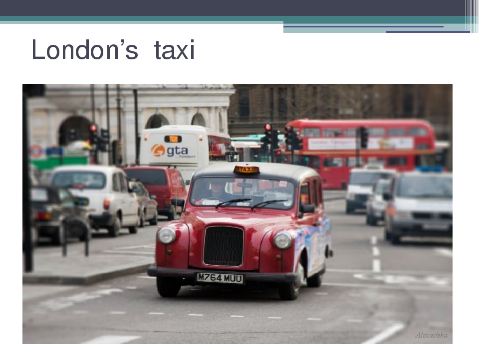London's taxi