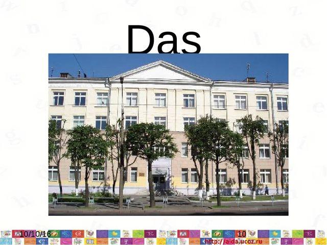 Das Gymnasium