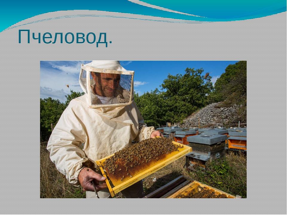 Пчеловод.