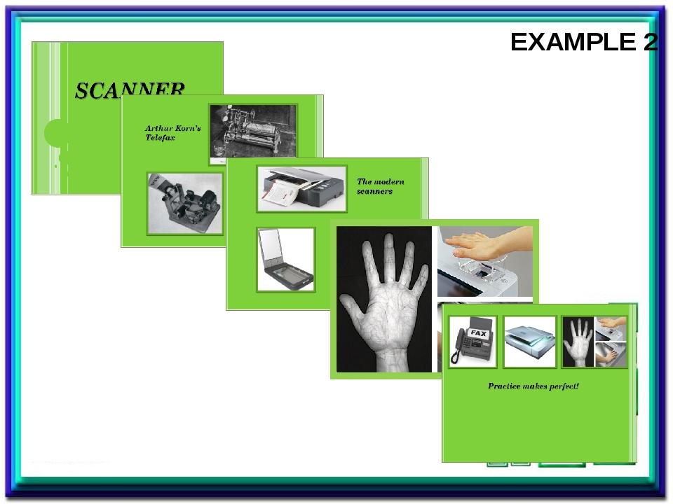 EXAMPLE 2 Пример мини-проекта о изобретении