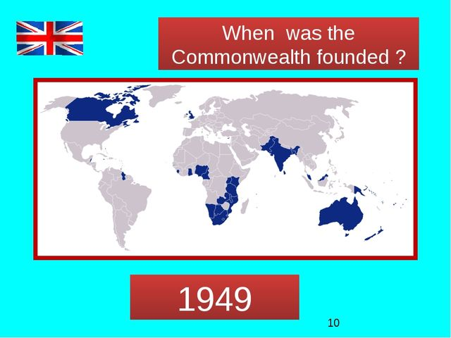 When was the Commonwealth founded ? 1949