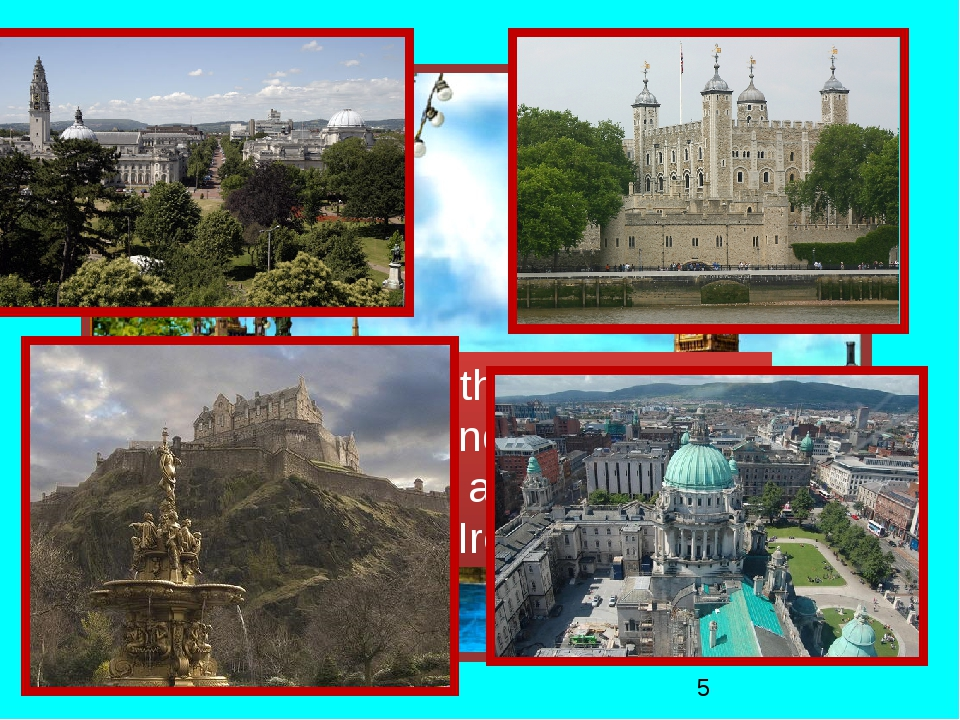 Name the capitals of England, Scotland, Wales and Northern Ireland.