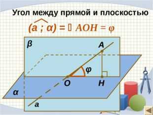 Прямая, проведенная в плоскости через основание наклонной перпендикулярно к е