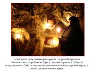 Араповские пещеры находятся рядом с деревней Араповка Новомосковского района