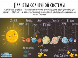 Взглянем на Солнечную систему