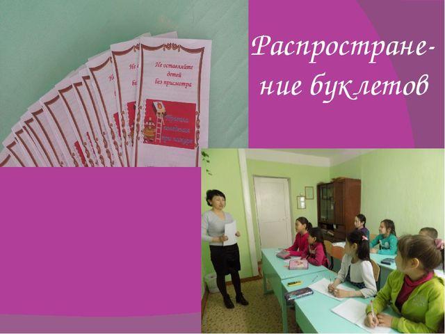 Prezentacii.com Распростране- ние буклетов