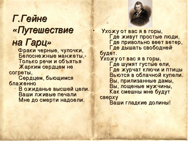 Корина Илона Викторовна Г.Гейне «Путешествие на Гарц» Фраки черные, чулочки,...
