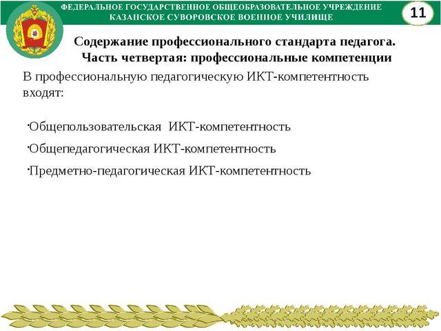 Общепользовательская ИКТ-компетентность Общепедагогическая ИКТ-компетентность...