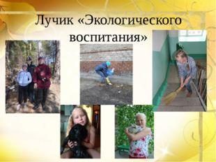 Лучик «Экологического воспитания»