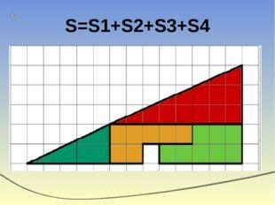 S=S1+S2+S3+S4