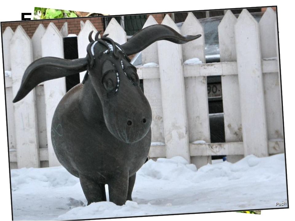 Ещё памятники животным…