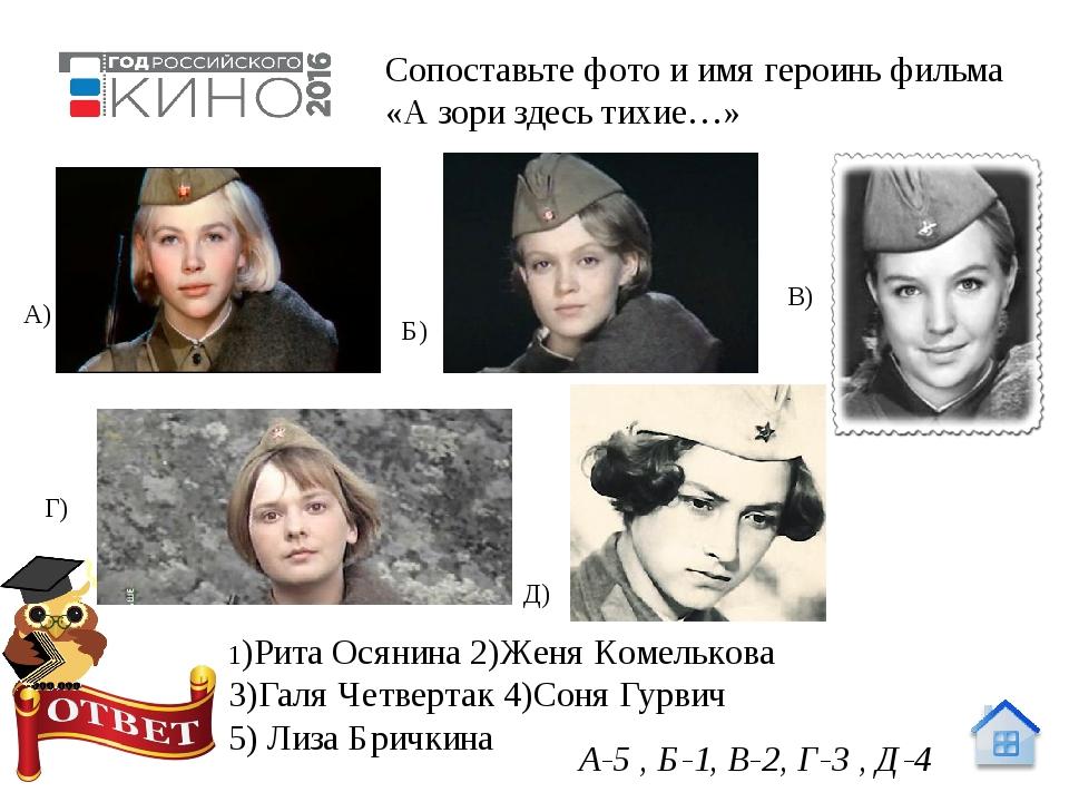 Образ героя Федот Евграфович Васков, старшина, комендант разъезда. 10