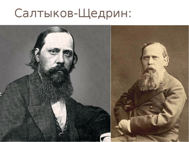 Салтыков-Щедрин: