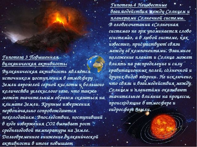 Гипотеза 4 Неизвестные взаимодействия между Солнцем и планетами Солнечной сис...