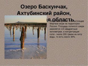 Озеро Баскунчак, Ахтубинский район, Астраханская область Озеро Баскунчак - эт