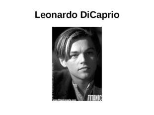 Leonardо DiCaprio