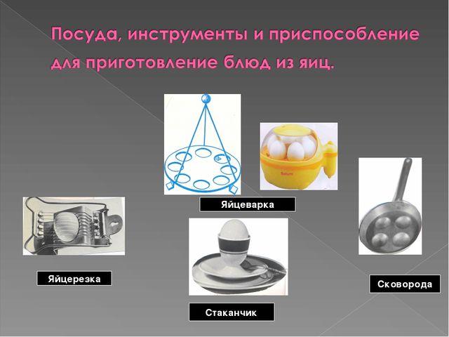 Яйцеварка Яйцерезка Сковорода Стаканчик