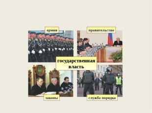 правительство служба порядка армия законы государственная власть