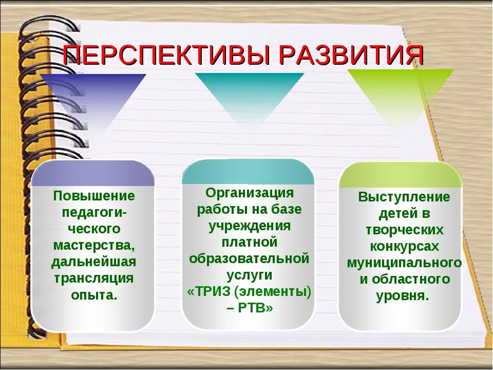 Повышение педагоги-ческого мастерства, дальнейшая трансляция опыта. Организац...