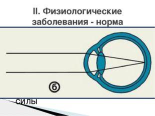 Рефракция глаза- преломляющая сила оптической системы глаза, выраженная в ди