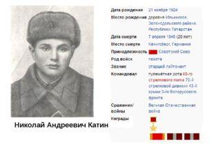 Николай Андреевич Катин