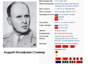 Андрей Иосифович Соммер